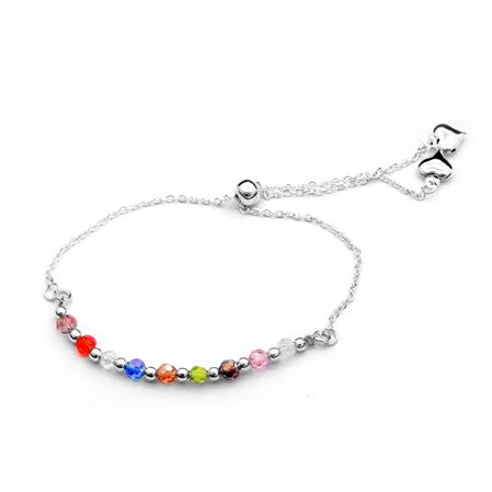 PULSERA CUBIC MULTICOLOR - REGULABLE