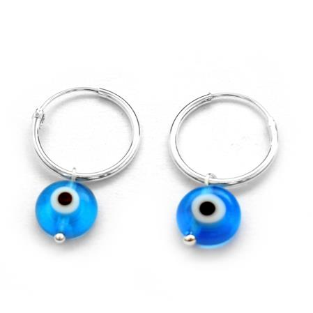 ARGOLLAS CON OJO TURCO 15MM
