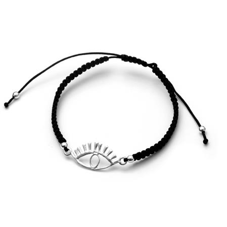 PULSERA OJO NEGRO REGULABLE