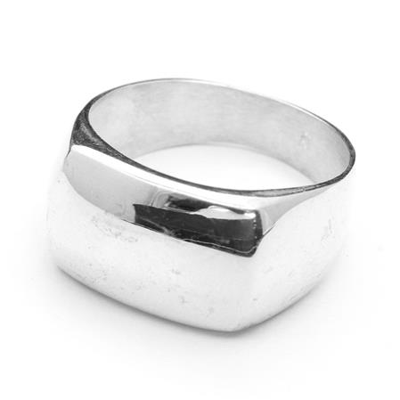 ANILLO RECTANGULAR LISO
