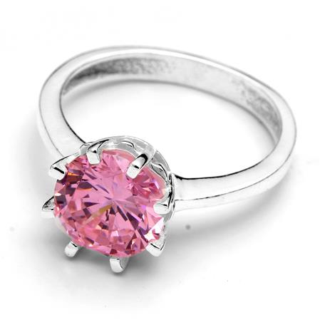 30 OFF ANILLO CUBIC ROSA
