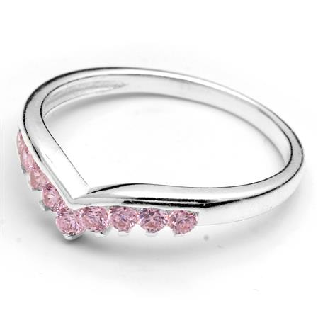 ANILLO AVE CUBIC ROSA