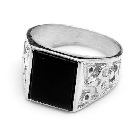 ANILLO RECTANGULAR ONIX